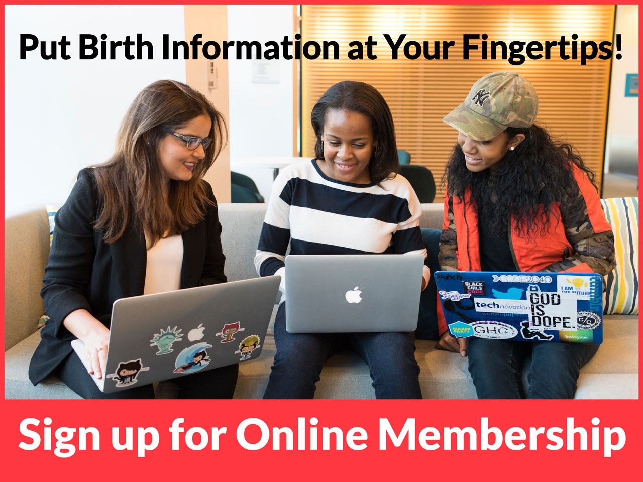 Sign up for a Midwifery Today Website Membership