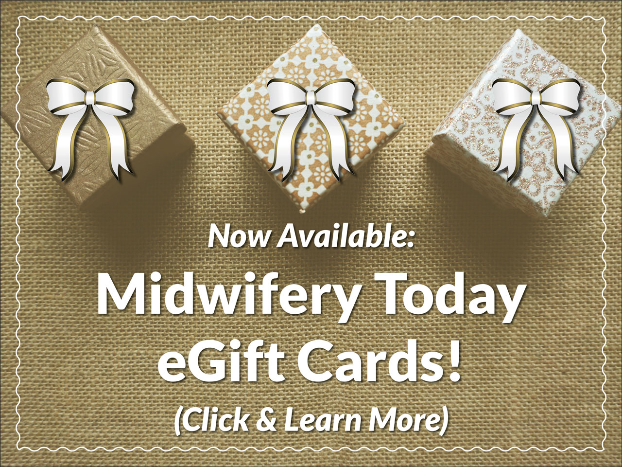 Give Midwifery Today eGift Cards