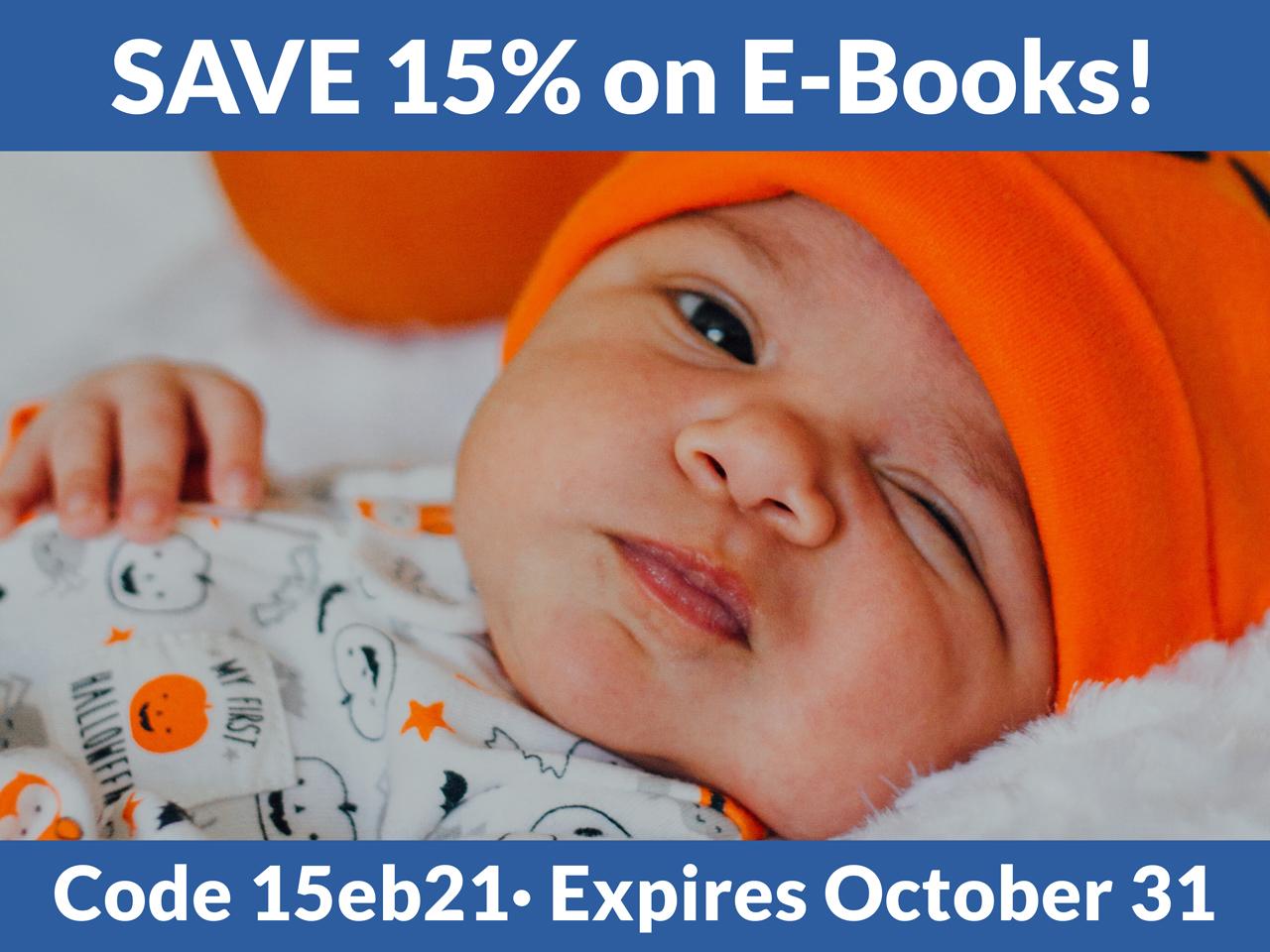 Save 15% on e-books