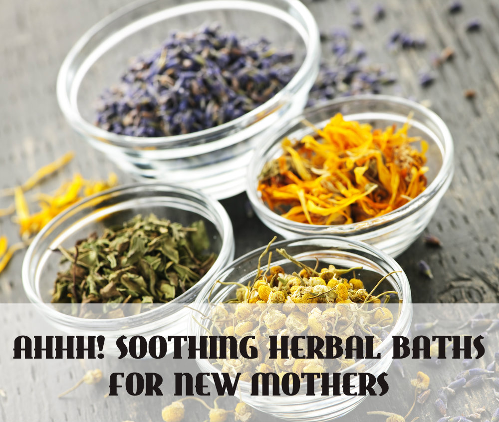 Herbal Sitz bath for New Mothers