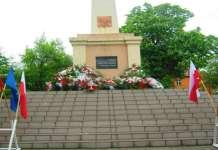 Zdjęcie: 2011-05-08 Dzień Zwycięstwa w Głogowie pomnik w Parku Słowiańskim