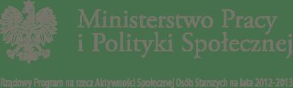 Logotyp Ministerstwa Pracy i Polityki Społecznej