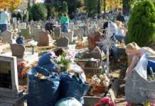2013-10-22-studenci-PWSZ@Glogow-uprzadkowali-groby-(fot.D.Jeczmionka)-01-