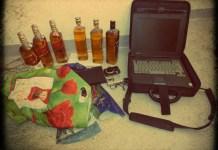 Zdjęcie: skonfiskowane przedmioty kradzieży - Głogowianin zatrzymany za dwa włamania