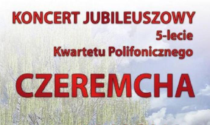 plakat 5-lecie zespołu czeremcha