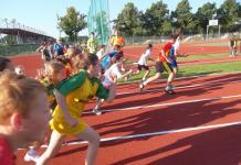 festiwal lekkoatletyczny dla dzieci w głogowie zawody bieg