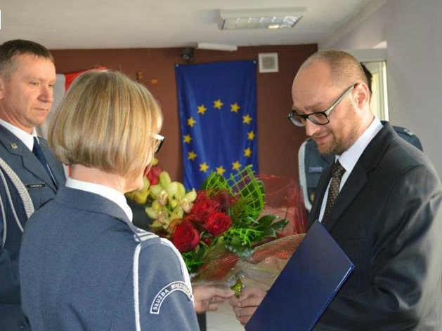2014-10-17 dyrektor zakładu karnego Sebastian Milik@Głogów-num