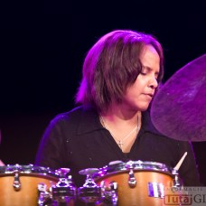 2014-10-18 Terri Lyne Carrington & Michał Urbaniak @MOK (fot.P.Dudzicki) 34