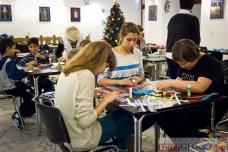2014-12-06 Warsztaty tworzenia ozdób choinkowych @MAH (fot.P.Dudzicki)
