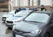 2015-01-13-samochody policyjne@Głogów