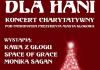 2015-01-03 plakat: koncert charytatywny dla Hani