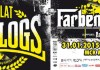 2015-01-20 plakat: the analogs, faben lehre, ampótacja,projekt punk