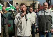 2015-02-20-protest rolników, Bogusław Barnaś@Głogow