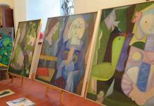 """2015-07-10 Wernisaż wystawy """"Człowiek chroni środowisko"""" @Zamek w Czernej (for. UM Głogów)"""