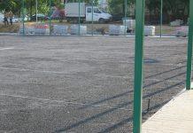 2015-08-10 Nowe boisko przy gimnazjum nr 5 już we wrześniu @Gimnazjum nr 5 (fot. UM Głogów)