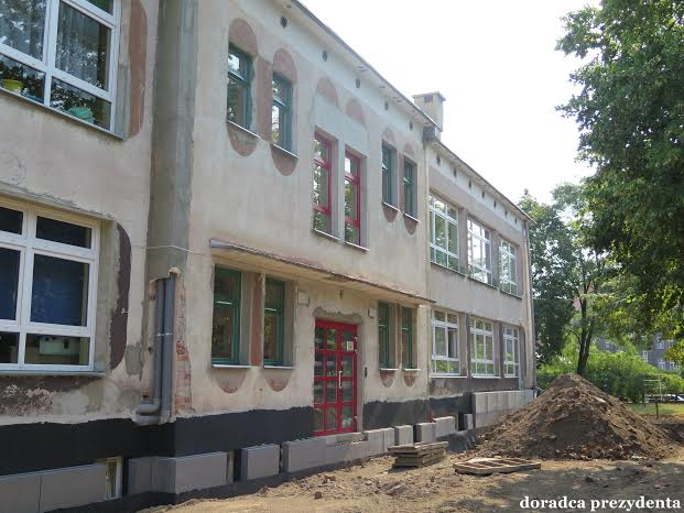 2015-08-11 Będzie ładniej i cieplej. remont Przedszkola Publicznego nr 2 @Przedszkole Publiczne nr 2 (fot. UM Głogów)