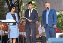 2015-08-17 Prezydent Głogowa wyrózniony przez wicepremiera @Plac Kolegiacki (fot. A. Błaszczyk)