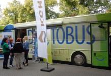 2015-09-26 Słodki Autobus jeździł po Głogowie @Plac Tysiąclecie (fot. A. Błaszczyk)