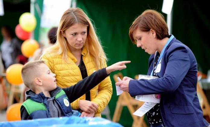 2015-09-29 W Polkowicach promowali zdrowie @PCP (fot. UG Polkowice)