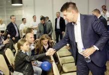 2015-10-01 Ryszard Petru w Legnicy (fot. materiały prasowe Nowoczesnej Ryszarda Petru)