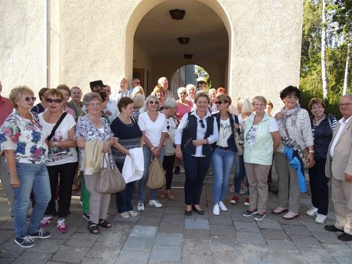 2015-10-08 Rozmawiali o sytuacji seniorów w Polsce i Niemczech @Eisenhuttenstadt (fot. Rada Seniorów)