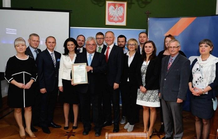 2015-10-09 W Polkowicach jest dobry klimat dla biznesu @UG Polkowice (fot. UG Polkowice)