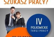 2015-10-16 IV Polkowickie Targi Pracy (plakat) 1