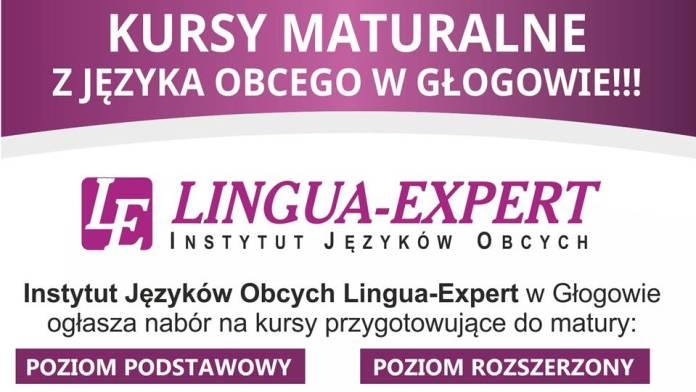 Kursy maturalne z języka obcego w Głogowie - info Lingua-Expert Głogów