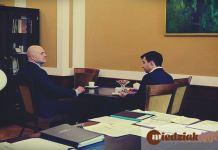 Miedziak.info.pl TutajGLGOOW.pl Dzień z Prezydentem Głogowa 2016 Rafael Rokaszewicz Jarosław Radko biuro prezydenta