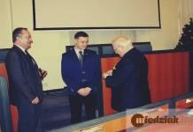 Miedziak.info.pl TutajGLOGOW.pl Odznaczenie członków TZG grudzień 2015