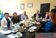 2016 marzec, Głogów, ZSSiB, spotkanie z delegacją z Poczdamu, staż w Centrum Kształcenia w Gotz