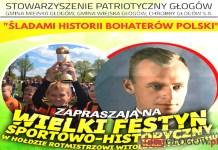 2016.04.02. Głogów, plakat, Festyn Historyczno-Sportowy SPG