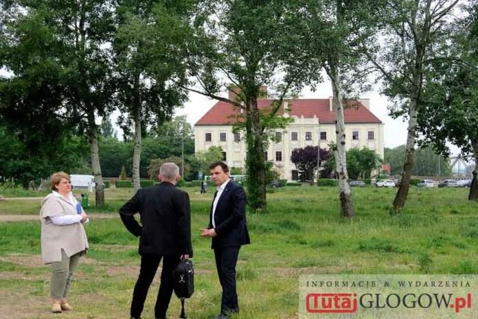 2016.05.25. Głogów, Bulwar Nadodrzański, spotkanie z projektantem Bulwaru