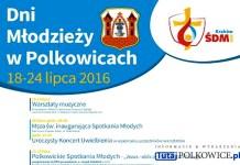 2016 Polkowickie Dni Młodzieży, plakat