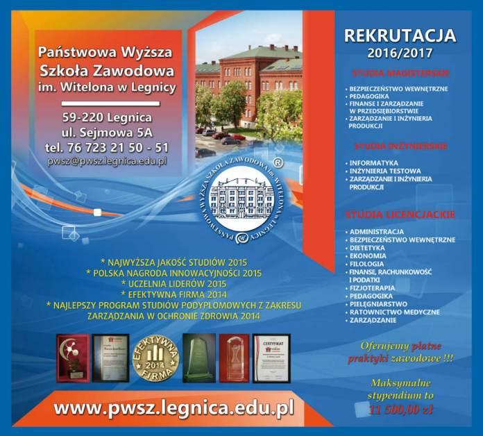 Wybierz studia w PWSZ im. Witelona w Legnicy