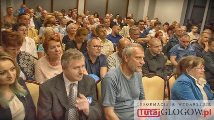 TutajGLOGOW.pl 2016-09-17 Nowoczesna Spotkanie otwarte Lepsza Polska z Ryszardem Petru @ Hotel Qubus Głogów - uczestnicy 2