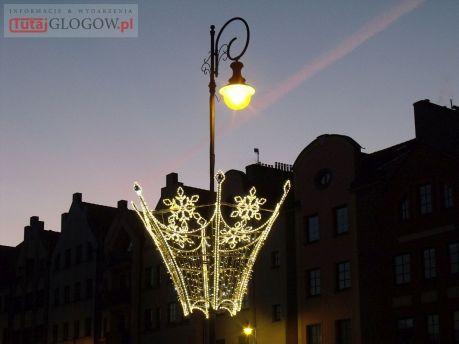 Iluminacje świetlne na Starym Mieście