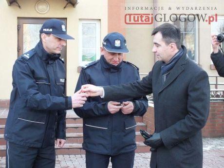 Nowe radiowozy w KPP w Głogowie (1.)