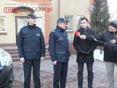 Nowe radiowozy w KPP w Głogowie (4.)