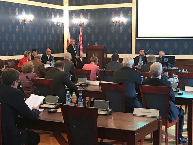 sesja Rady Miejskiej Głogów