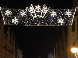 świąteczne iluminacje głogów
