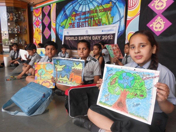Mief Project Earth Day Celebrations - Millennium India