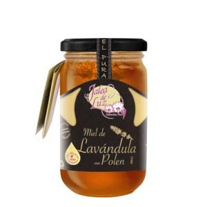 Miel de Lavanda con Polen 500 g.