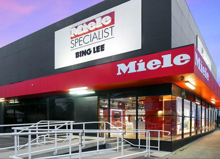Miele Specialist Bing Lee Showroom, Drummoyne, NSW.