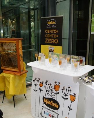 Le api in Stazione Garibaldi  Mielizia