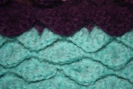 turquoise & violet