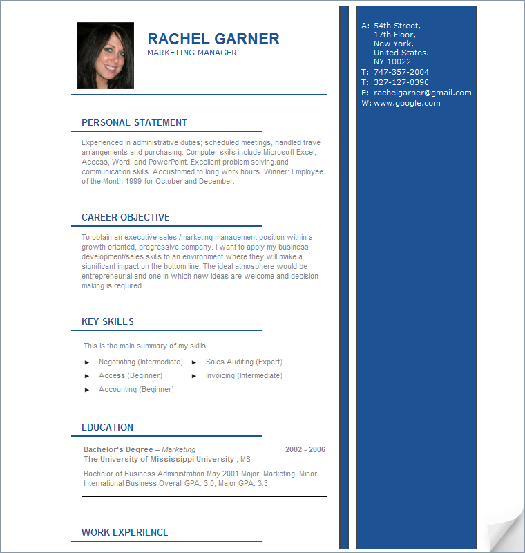 Get Your Dream Job With An Attractive Resume  Random Pages