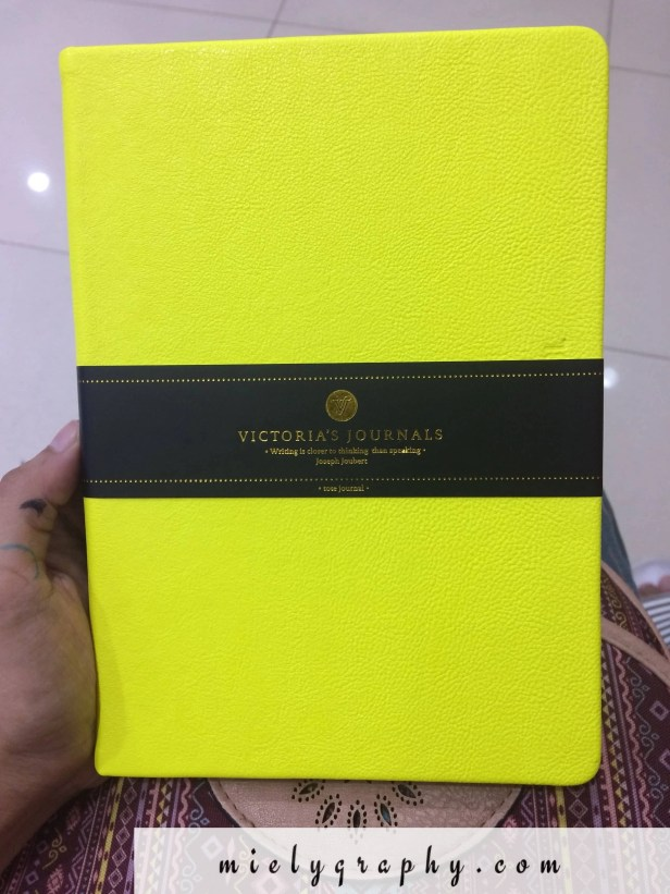 victoria's journals- dotted and hard cover