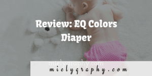Review: EQ Colors Diaper(the cheap ones)