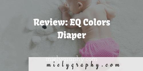 EQ Colors Diaper review